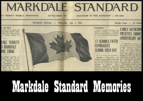 Markdale Standard Memories