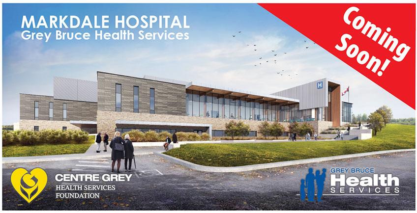 New billboard for Markdale Hospital