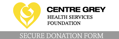 CGHSF Donation Form