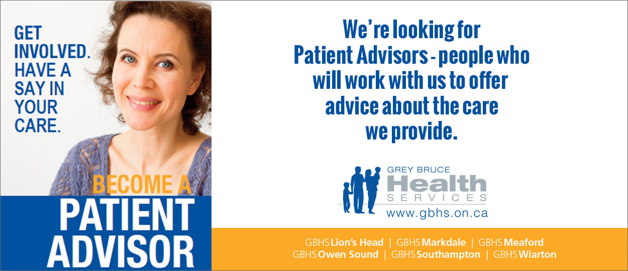 Get Involved. Become a patient advisor.